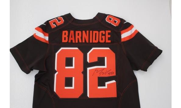 Autographed Authentic Gary Barnidge Jersey