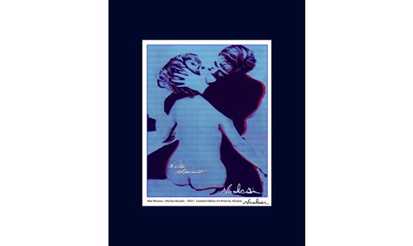 Big image 2019 03 08 rita moreno international womens day art print blue