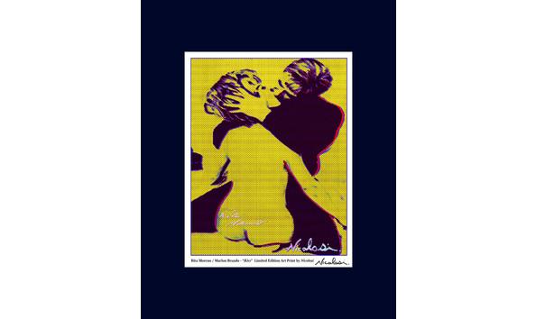 Big image 2019 03 08 rita moreno international womens day art print yellow