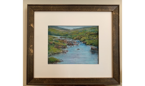 Big image cathycullis mountain creek framed