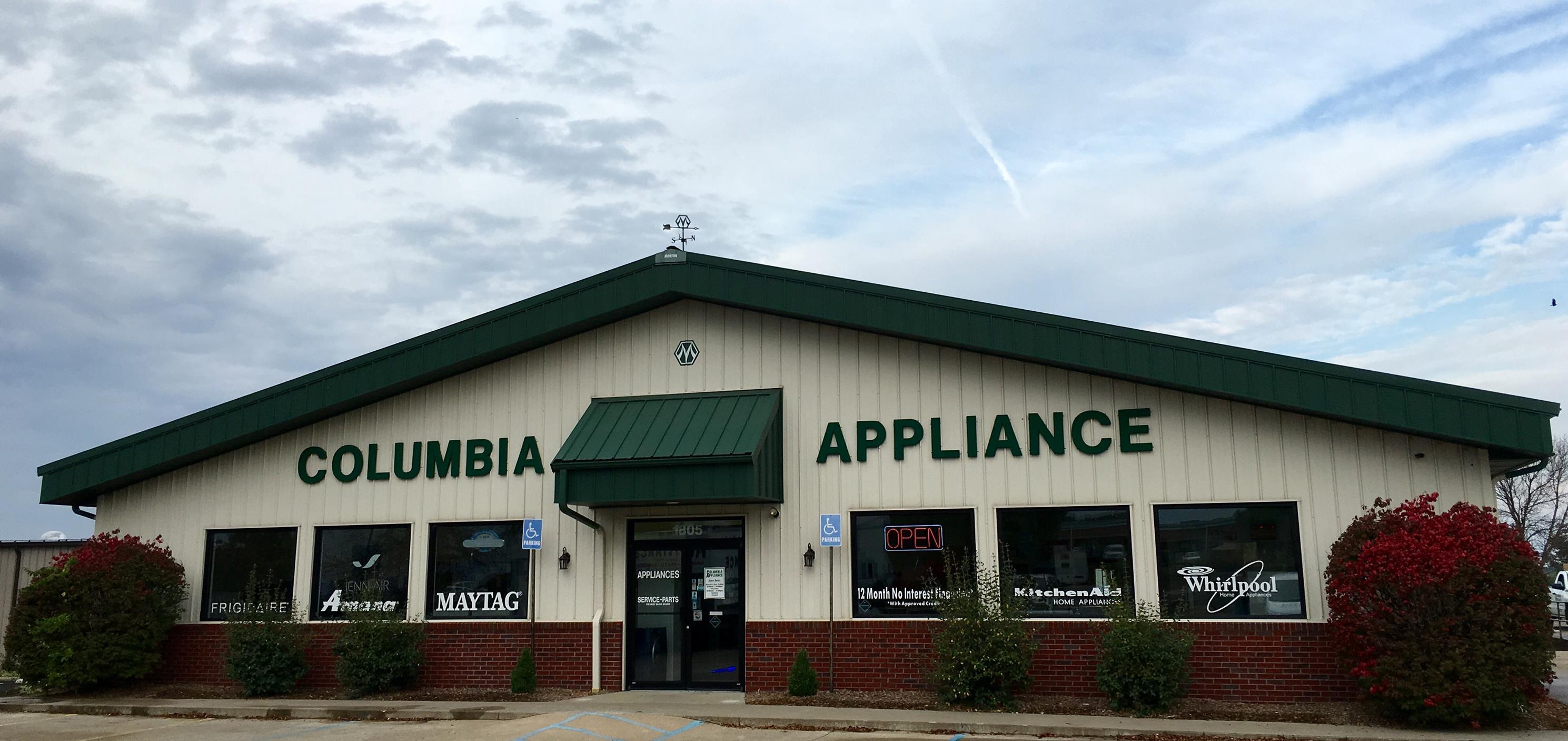 Columbia appliance