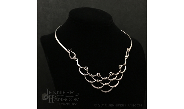 Big image hanscom   ripple cascade neckpiece