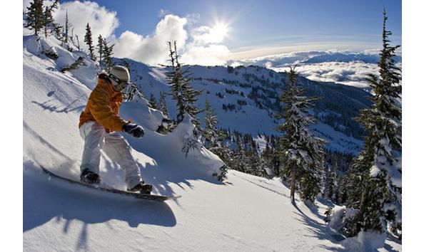 Big image pic whistler snowboarding