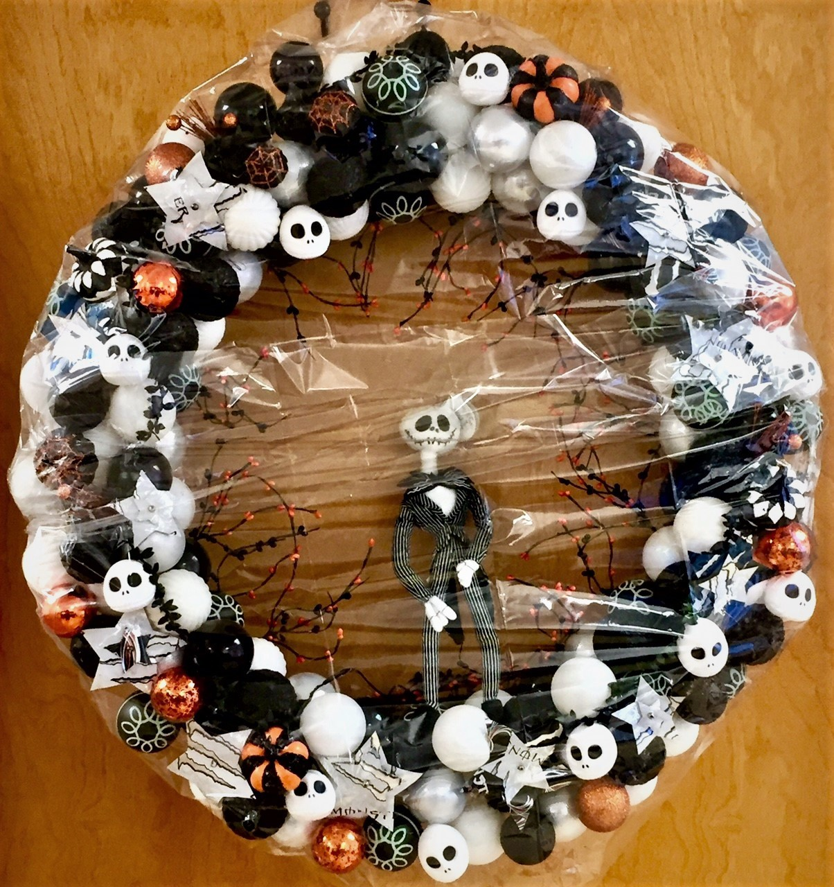 Nightmare Before Christmas Wreath
