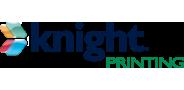 Sponsor logo knight printing 3d