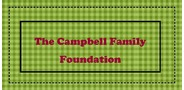 Sponsor logo the campbell family foundation logo