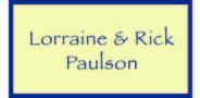 Sponsor logo paulson family logo