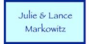 Sponsor logo markowitz family logo