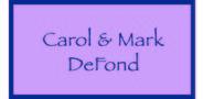 Sponsor logo defond family logo