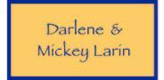 Sponsor logo larin family logo