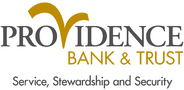 Sponsor logo providence bank logo