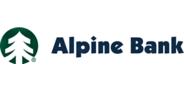 Sponsor logo alpine bank logo  2