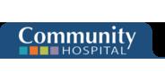 Sponsor logo community hospital logo