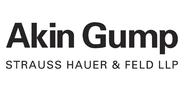 Sponsor logo logo akin gump 2020