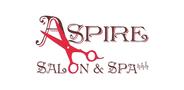 Sponsor logo aspire salon spa