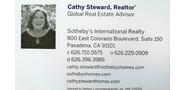 Sponsor logo cathy steward business card v.2