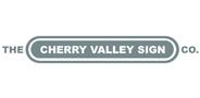 Sponsor logo cherryvalleysign