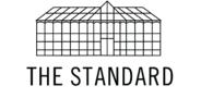 Sponsor logo thestandard logo outline black preview