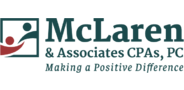 Sponsor logo mclaren and associates