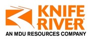 Sponsor logo knife river