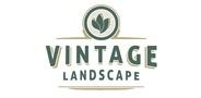 Sponsor logo vintage landscape