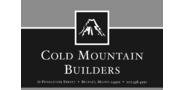 Sponsor logo cold mountain builders logo