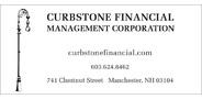Sponsor logo curbstone financial