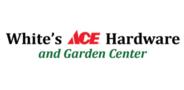 Sponsor logo whites ace hardware