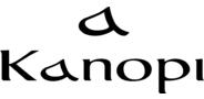 Sponsor logo kanopi logo and icon lockup rev