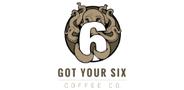 Sponsor logo got your six coffee